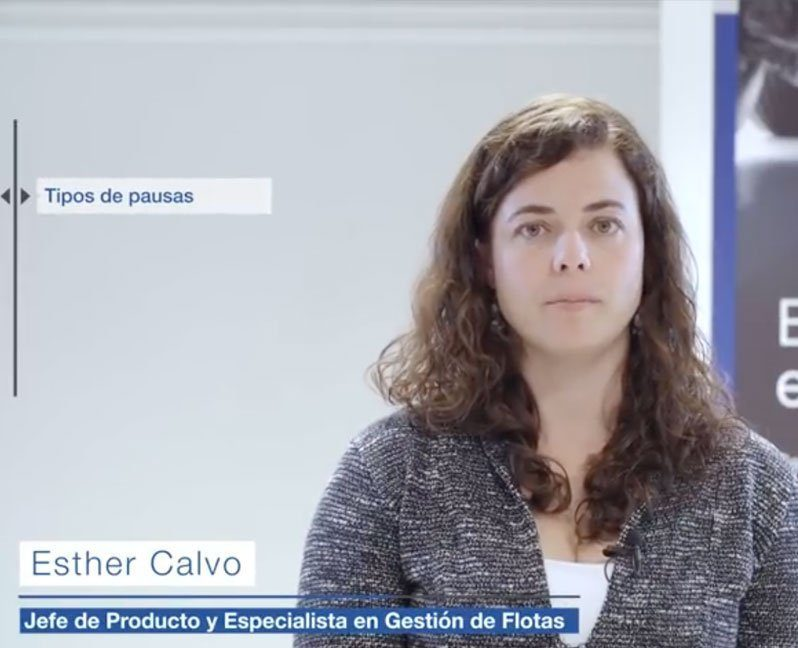 Esther Calvo, TIPOS DE PAUSAS Y CONDUCCIÓN NOCTURNA