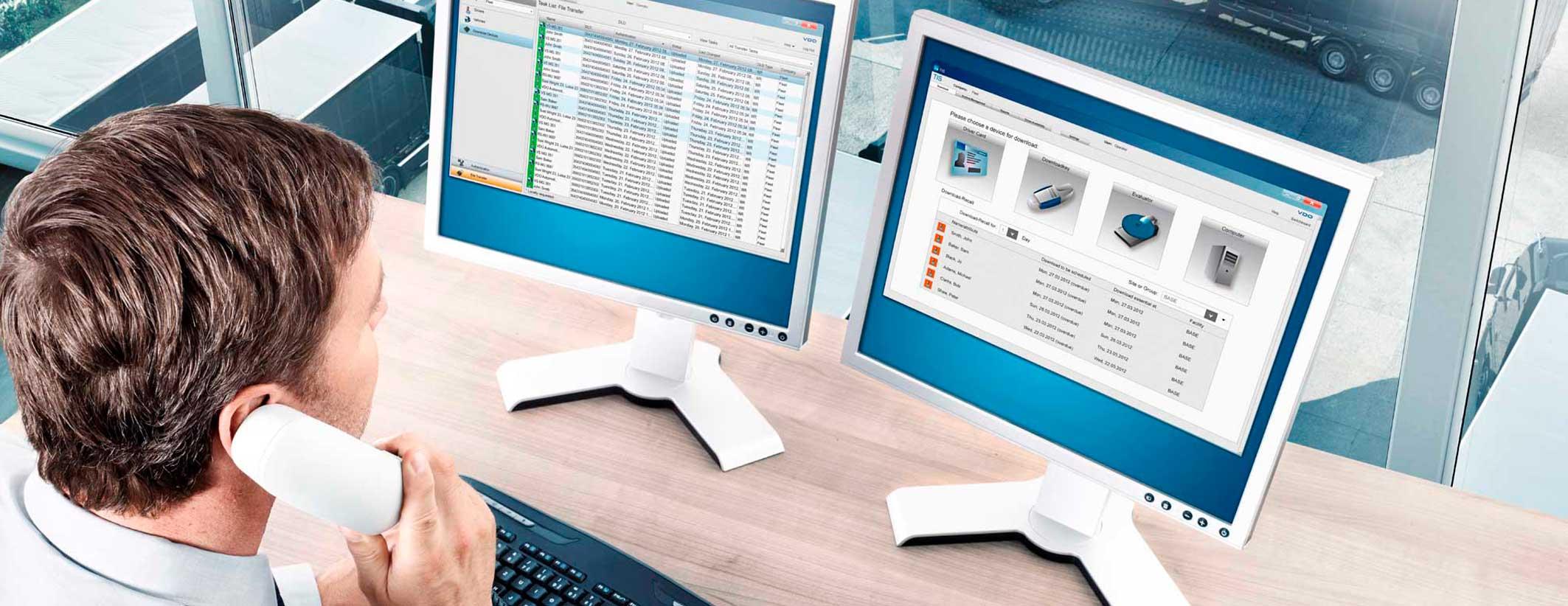 Gestion de datos tacografo digital