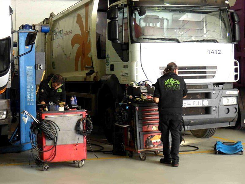 Urban Trucks Servicio técnico vehículos urbanos y tacógrafos valencia