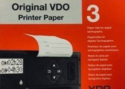 original vdo printer paper