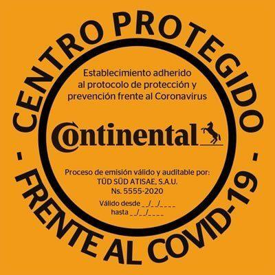 imagen de sello de centro protegido frente al covid-19