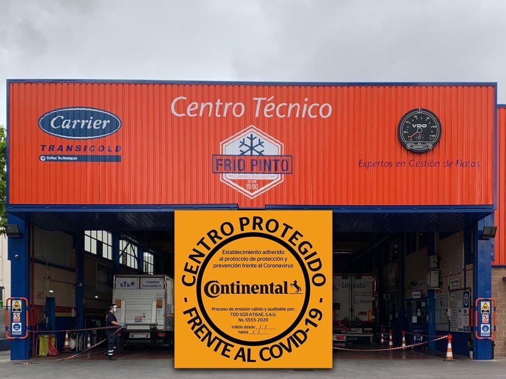 El Centro Técnico Frío Pinto reafirma su compromiso con sus clientes frente al COVID-19