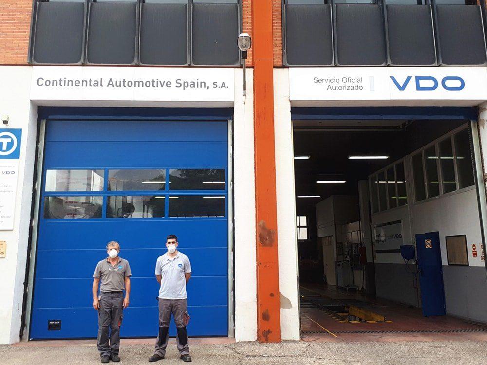 """El Centro Técnico Continental Automotive Spain, uno de los primeros en obtener su certificado """"Centro Protegido frente al Covid-19"""""""