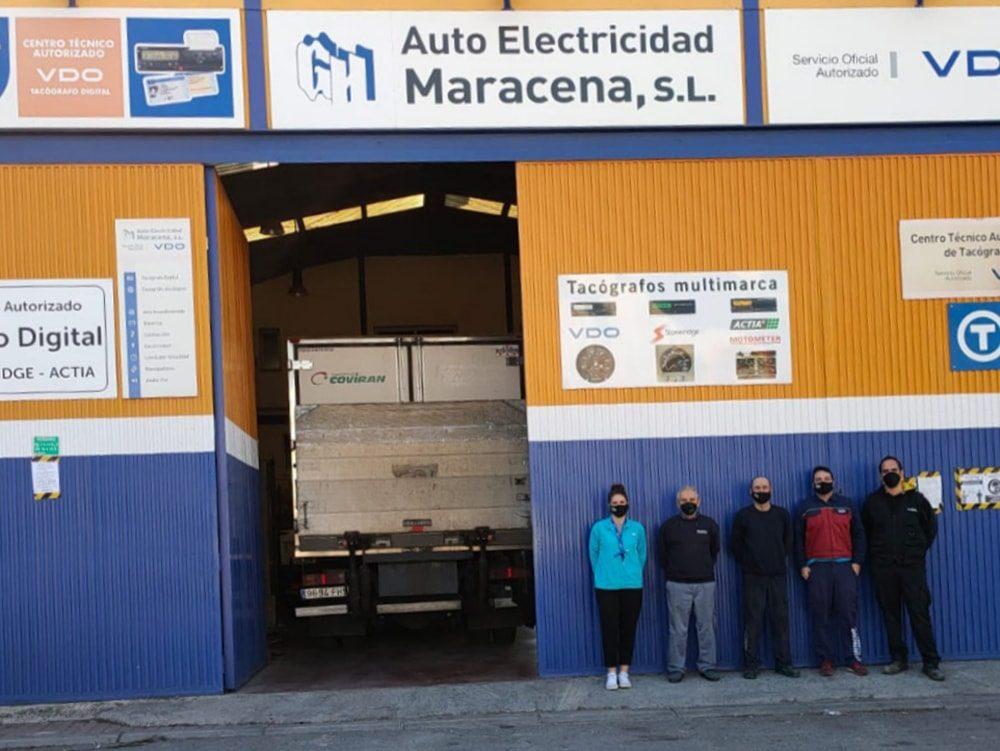 Pioneros en ofrecer un servicio de tacógrafo premium en Granada