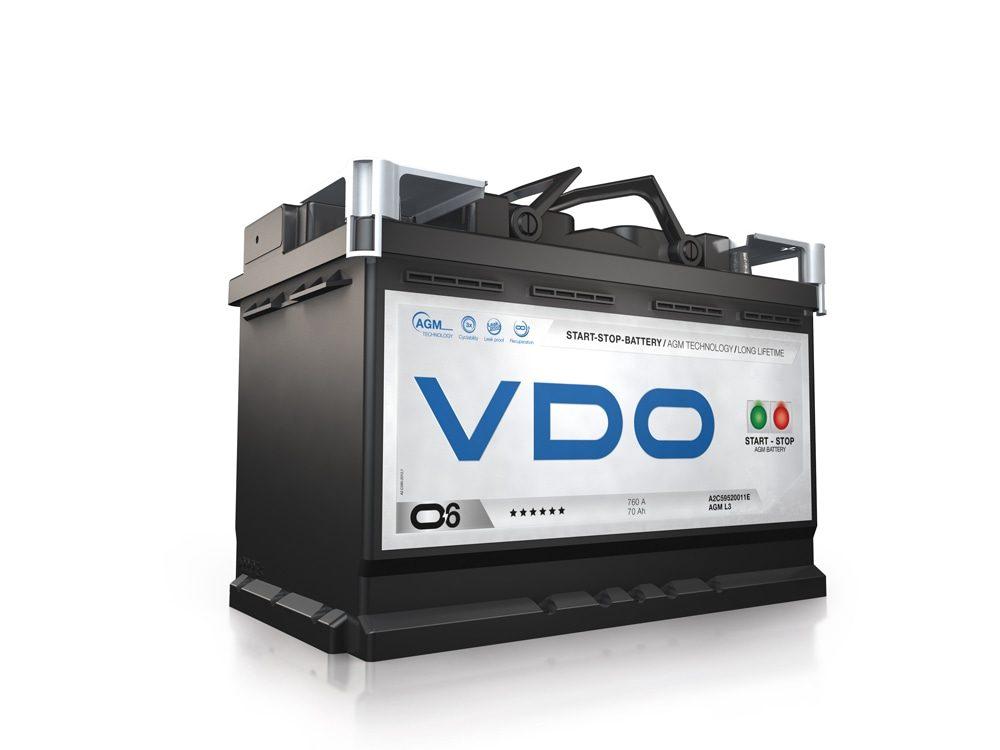 Baterías VDO · La perfecta aliada para los profesionales de la carretera.